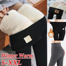 Women Pants, trousers, skinny pants, Fleece