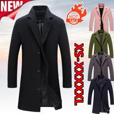 woolen, Casual Jackets, Fleece, slim