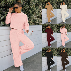 Home & Kitchen, Fleece, Two-Piece Suits, Ladies Fashion