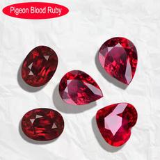 DIAMOND, weddinganniversary, pigeonbloodruby, diydiamondring