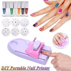 Machine, Nails, nailstamper, Beauty tools