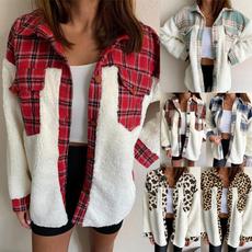 casual coat, Thicken, Fashion, Winter