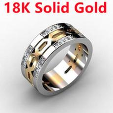 Sterling, inlaid, Fashion, wedding ring