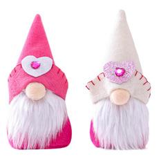 heartdecoration, valentinesdaydecoration, gnome, doll