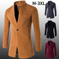 woolen, Casual Jackets, Overcoat, Winter