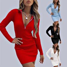 zipperdresse, blouse, Fashion, longsleeveddresse