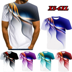 Mens T Shirt, Short Sleeve T-Shirt, Sleeve, Colorful