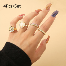 crystal ring, Jewelry, gold, opalring