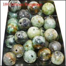 8MM, Stone, 10bead, africanturquoise
