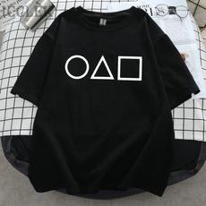 shortshirt, Summer, squidgametshirt, Cosplay