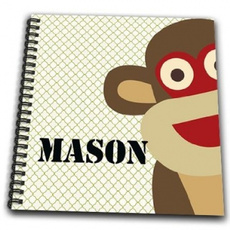 cute, Book, art, monkey