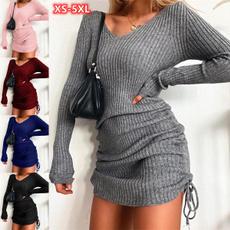 tunicdresse, Mini, dressesforwomen, Long Sleeve Dresses