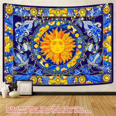 trippytapestry, burningsuntapestry, Flowers, Wall Art