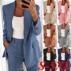 suitforwomen, Plus Size, Blazer, Office