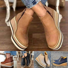 wedge, short boots, winter fashion, Ankle