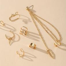 Fashion, Jewelry, punk, earclipearring