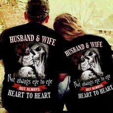 Heart, skeletontshirt, husbandtshirt, Skeleton