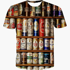 Fashion, Shirt, Beer, Novelty